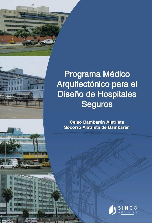 programa mxdico arquitectonico para disexo de hospitales