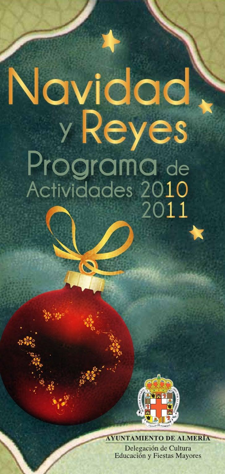 Programa navidad 2010 2011