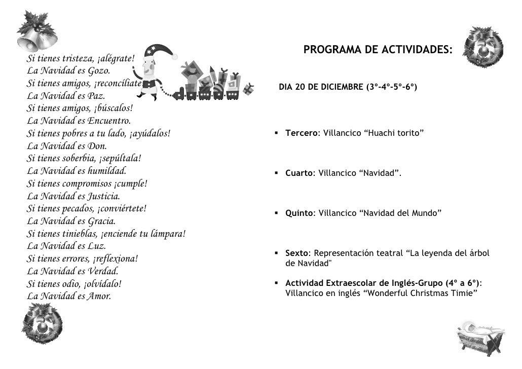 Programa navidad 2011 primaria