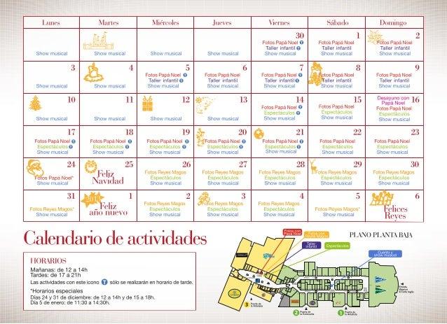 Actividades Navidad Madrid Xanadú 2012