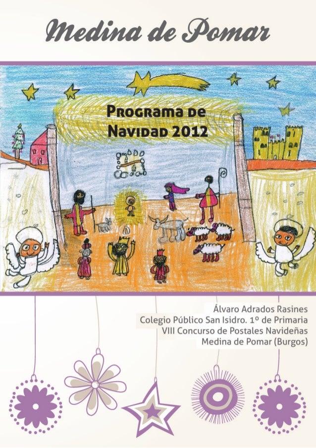 Programa Navideño de Medina de Pomar. Merindades