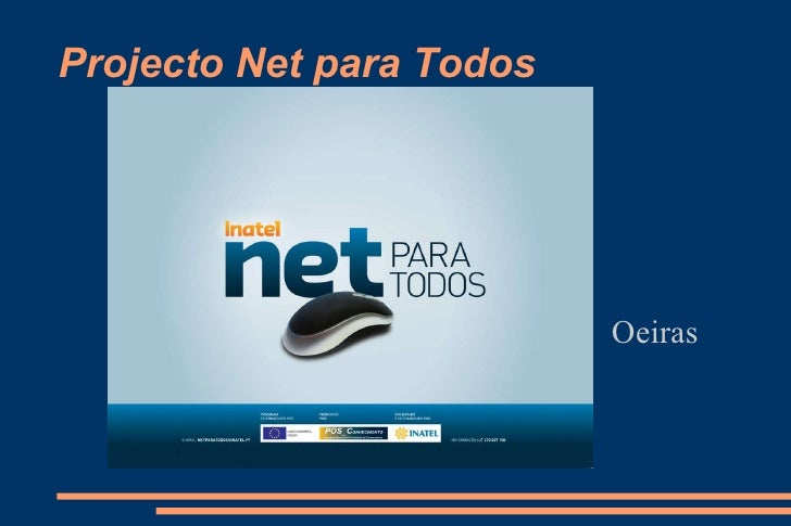 Projecto Net para Todos Oeiras