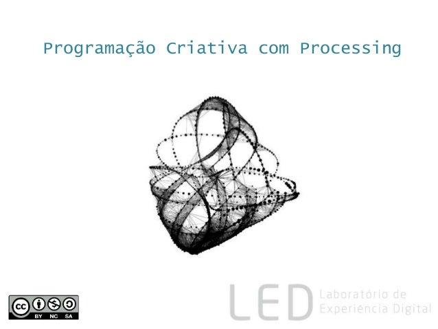 Programação Criativa com Processing
