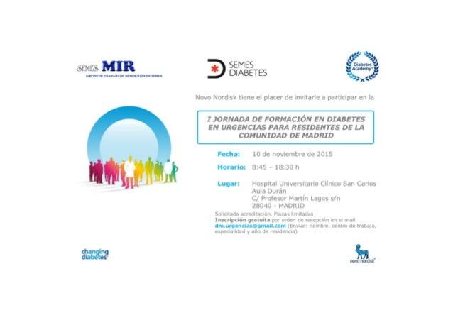 Programa oficial Residentes