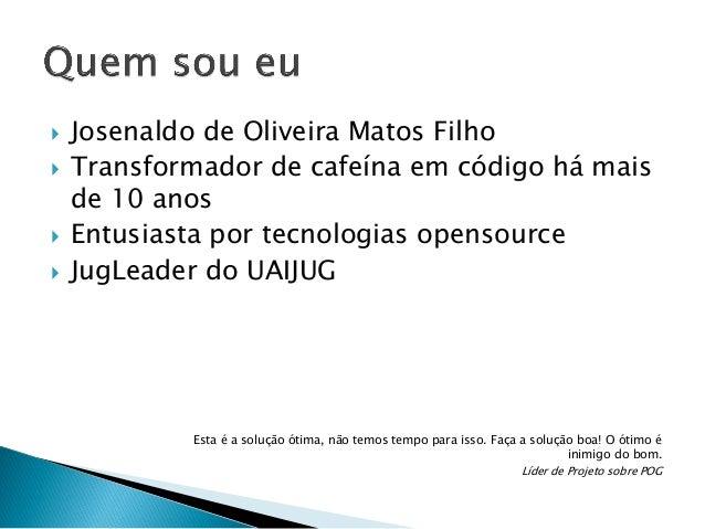         Josenaldo de Oliveira Matos Filho Transformador de cafeína em código há mais de 10 anos Entusiasta por tecnolo...