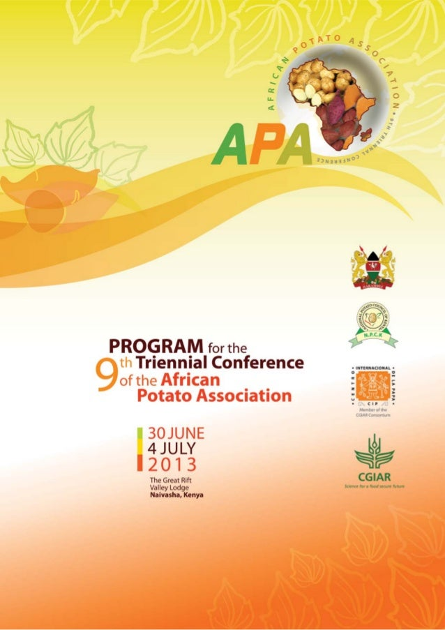 19th Triennial Conference of the African Potato Association