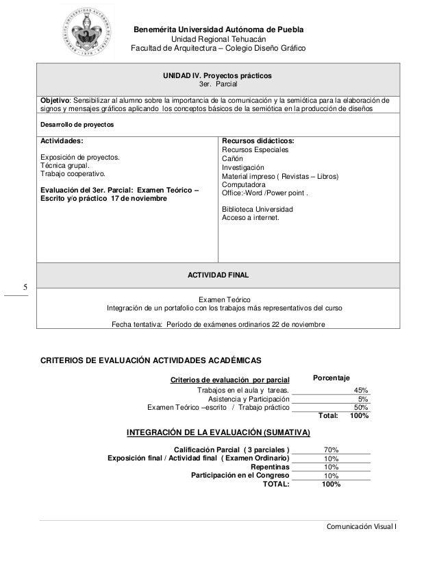 Benemérita Universidad Autónoma de Puebla Unidad Regional Tehuacán Facultad de Arquitectura – Colegio Diseño Gráfico Comun...