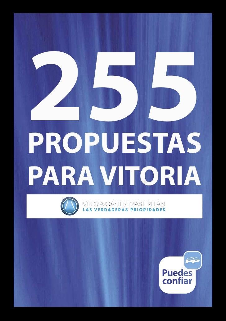 255PROPUESTASPARA VITORIA