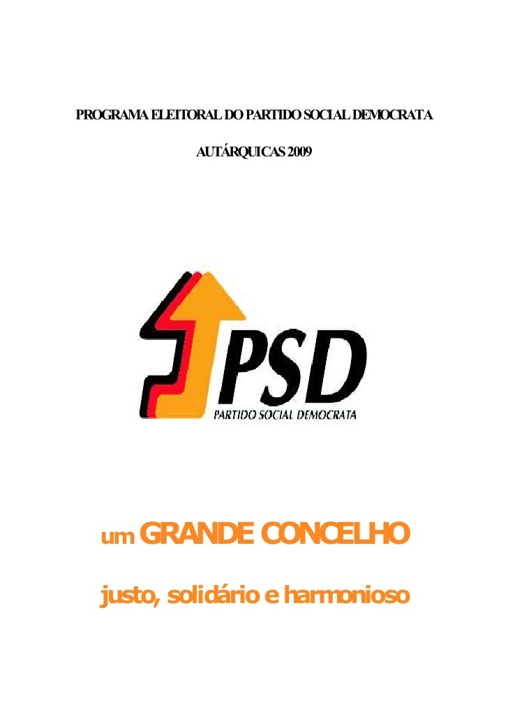 Programa Psd Abrantes 2009 Definitivo Slide 2