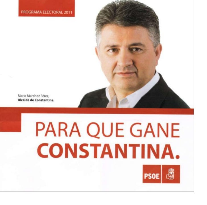 Programa Psoe Constantina.