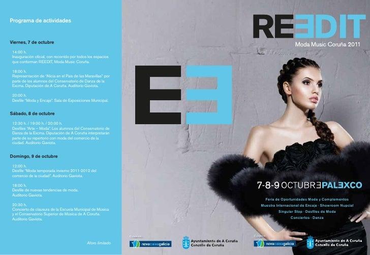 Programa de actividadesViernes, 7 de octubre 14:00 h. Inauguración oficial, con recorrido por todos los espacios que confo...