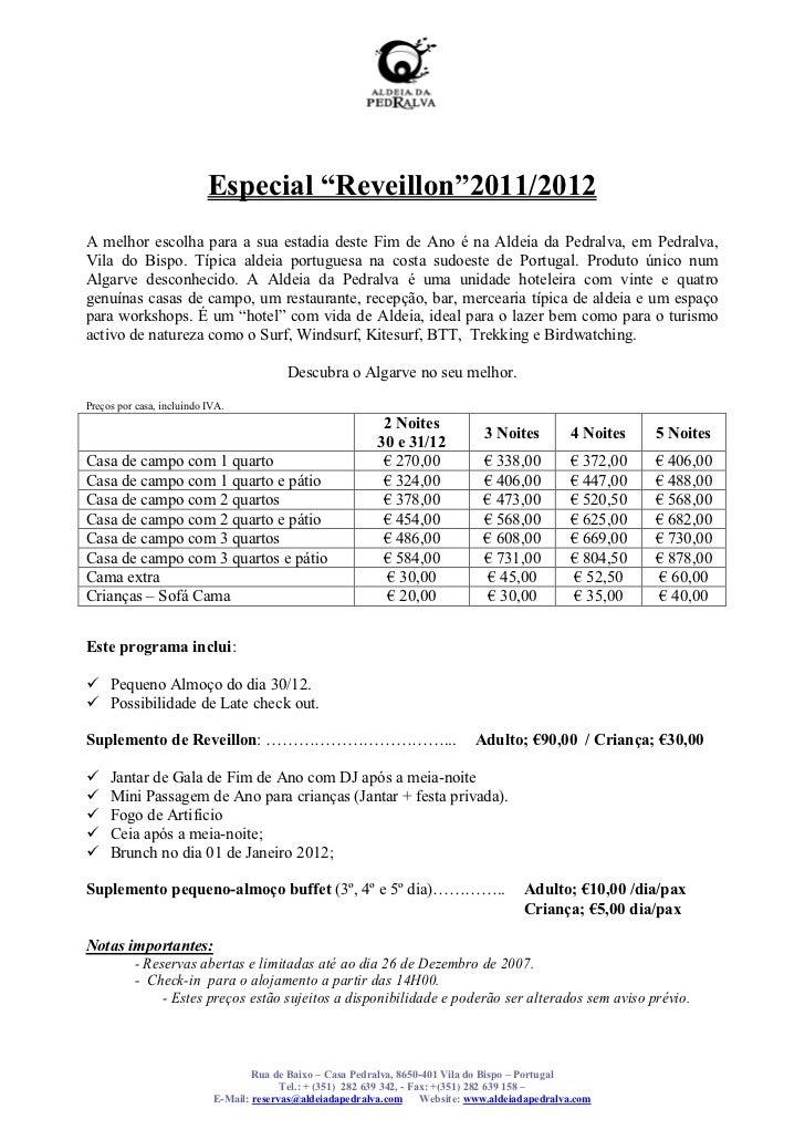 """Especial """"Reveillon""""2011/2012A melhor escolha para a sua estadia deste Fim de Ano é na Aldeia da Pedralva, em Pedralva,Vil..."""