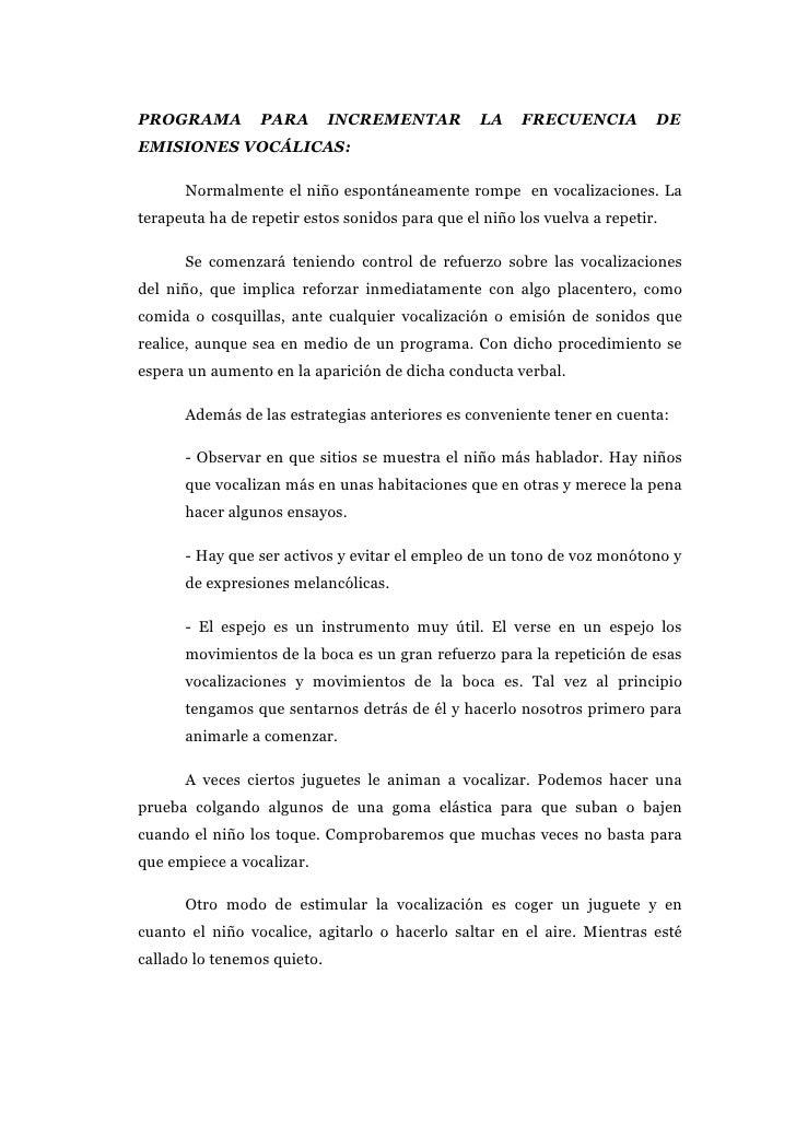 PROGRAMA DE FRECUENCIA VOCÁLICA