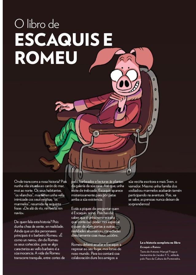 Resultado de imaxes para romeu e escaquis
