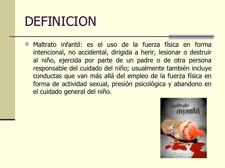 PROGRAMA EDUCATIVO EN NIÑOS MALTRATADOS Slide 2