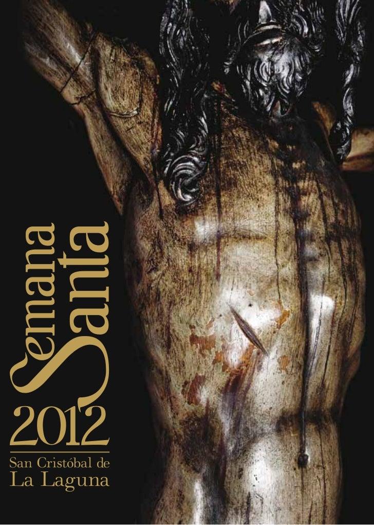 PROGRAMA DEACTOS, CULTOS Y PROCESIONES       Semana Santa 2012