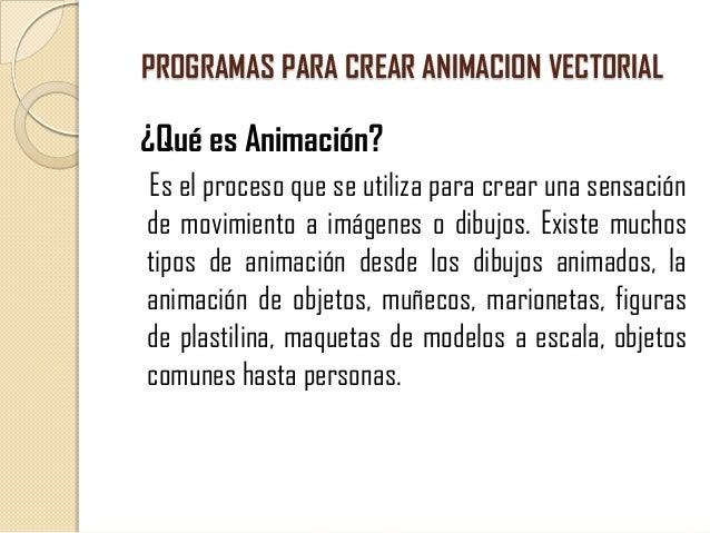 Programas para crear animacion vectorial for Programa para hacer planos a escala