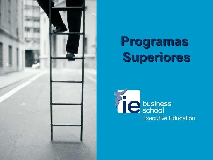 Programas  Superiores