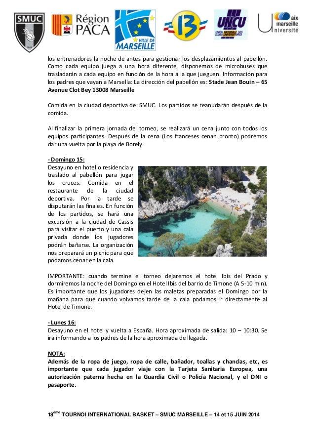 Programa Torneo Marsella Slide 2