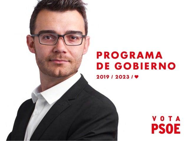 PROGRAMA DE GOBIERNO 2019 / 2023 /