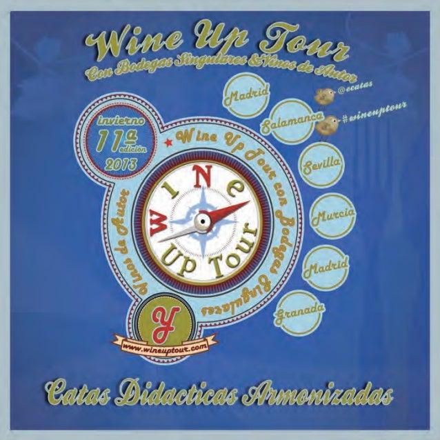 Programa wine up tour invierno 2013   br