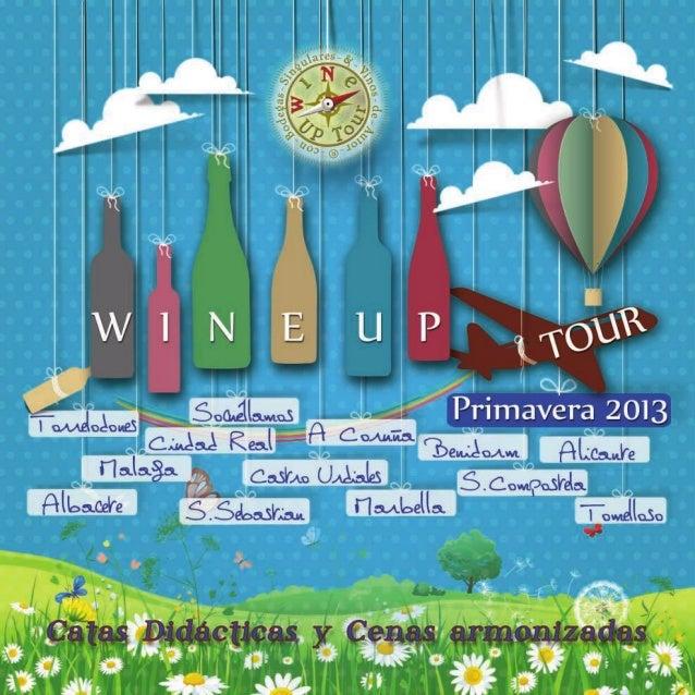 Programa wine up tour primavera 2013