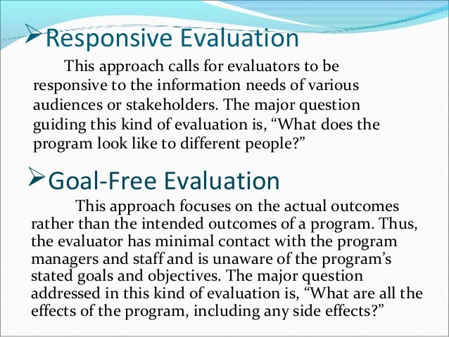Program Evaluation Forms Participatoryinteractive Evaluation Form