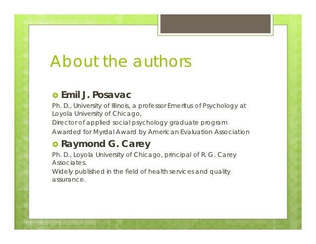 Program evaluation 20121016 Slide 3