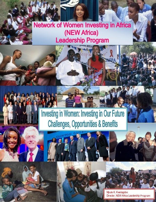 reword         Mpule K. Kwelagobe         Director, NEW Africa Leadership Program