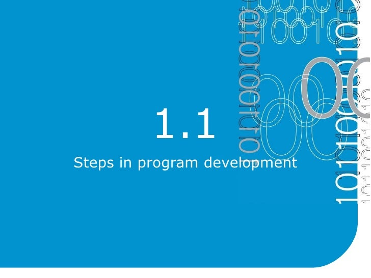 Program logic and design