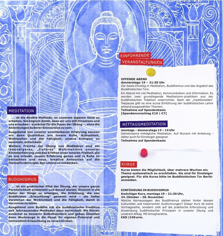 Buddhismus in Berlin Herbst 2011 Slide 2