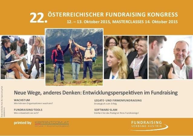 printed by kbprintcom.at Druck + Kommunikation GmbH Gutenbergstraße 2, 4840 Vöcklabruck, Austria Österreichischer Fundrais...