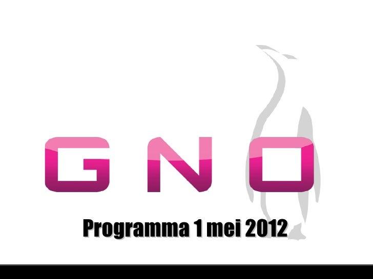Programma 1 mei 2012