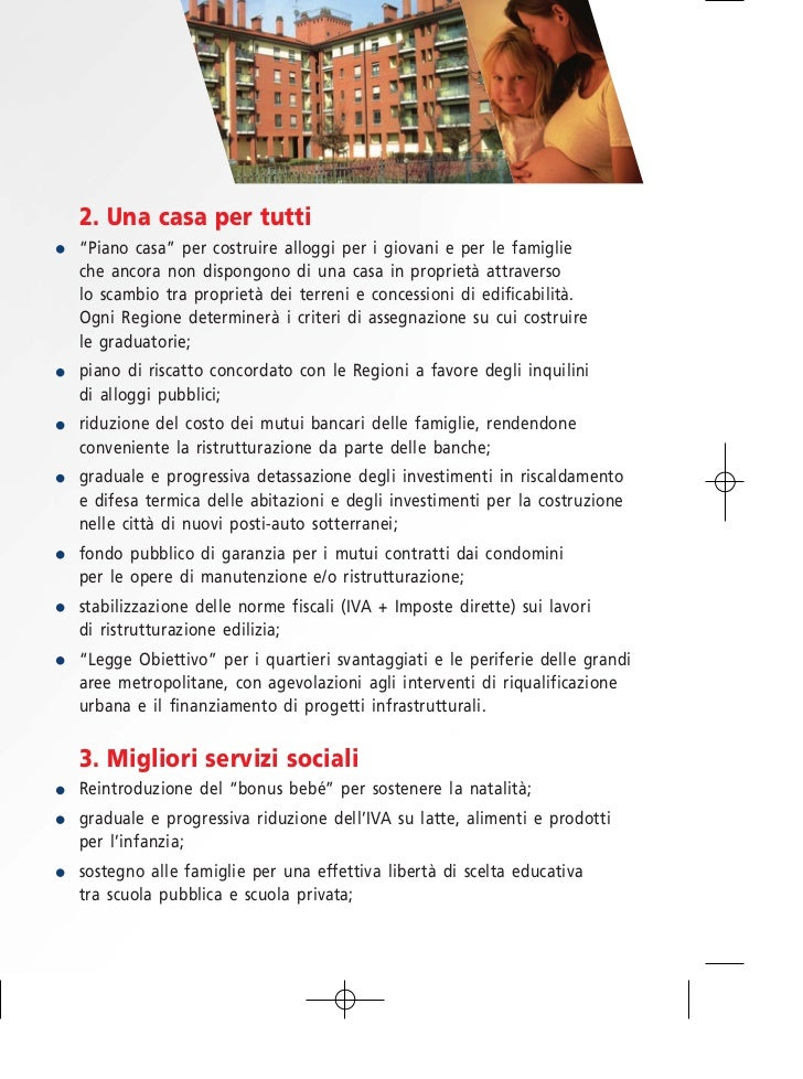 7 missioni per il futuro dell 39 italia