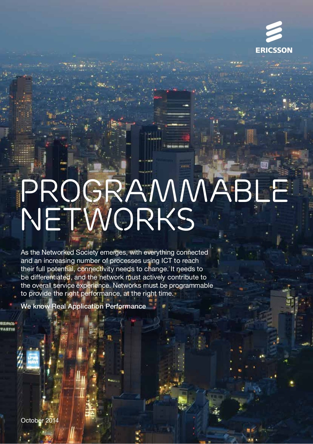 Programmable networks
