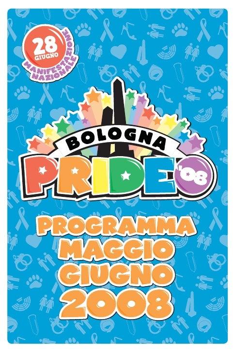 programma Bologna Pride \'08