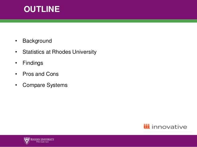program registration innovative sierra module rhodes university exp rh slideshare net