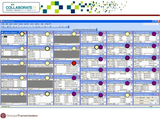 Program Management At An Electric Utility - Program tracking template