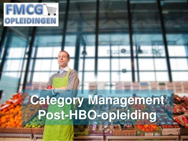Programma post hbo opleiding category management for Opleiding tuinarchitectuur hbo
