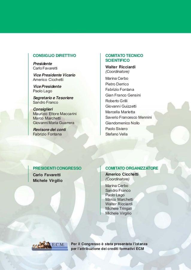 Programma preliminare  6° congresso nazionale sihta 3 Slide 3