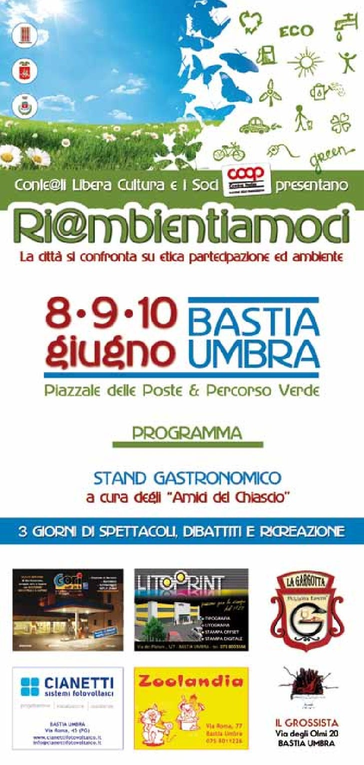 Noi Associazioni operanti nel sociale a Bastia, vogliamo porre all'attenzionedella città, del comprensorio e di tutta la s...