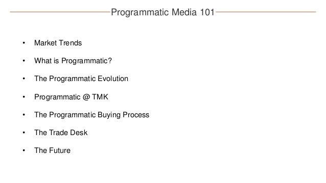 TMK.edu Programmatic: September 2016 Slide 2