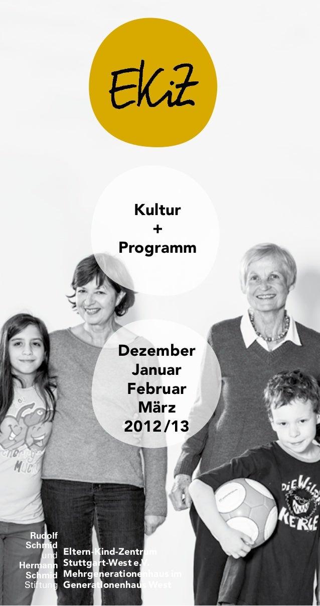 Kultur                          +                      Programm                      Dezember                        Janua...