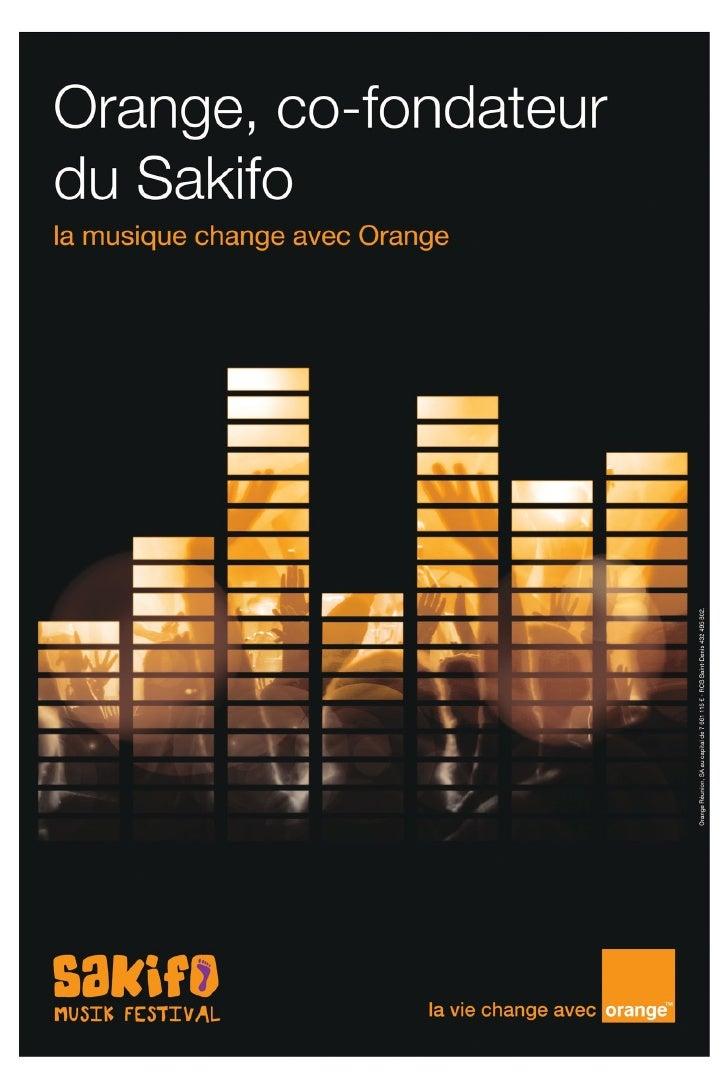 Programme Sakifo 2012 Slide 2