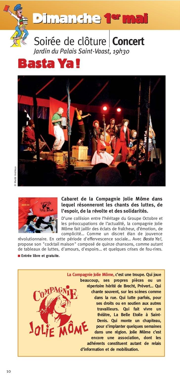 Dimanche 1er mai                                   Soirée de clôture Concert                                   Jardin du P...