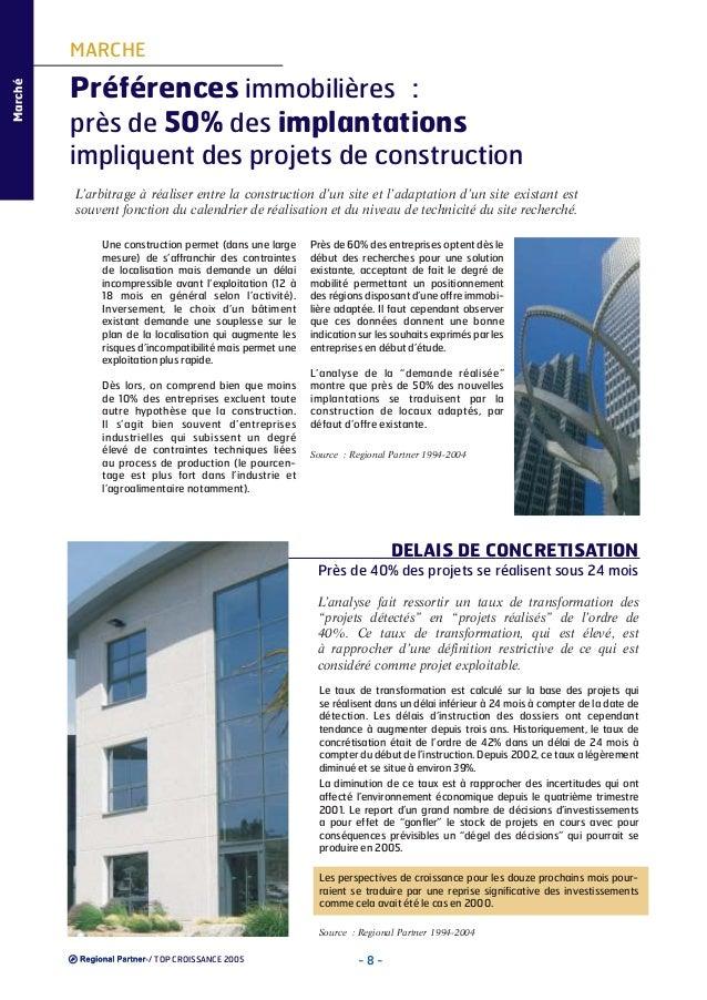 Marché  MARCHE  Préférences immobilières : près de 50% des implantations impliquent des projets de construction L'arbitrag...