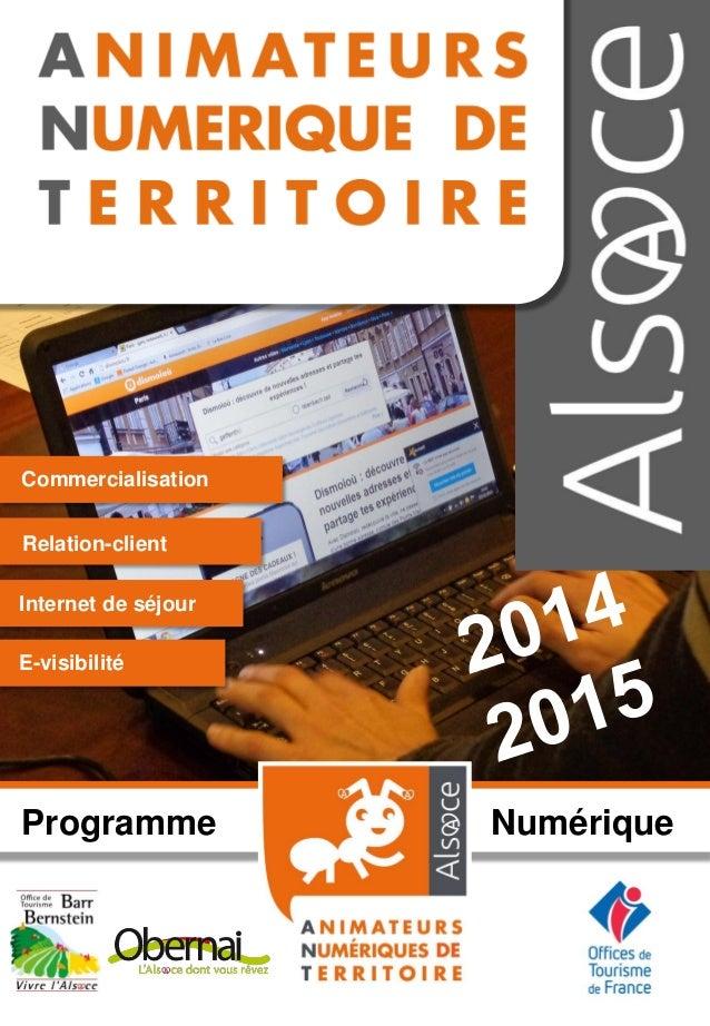 Programme Numérique Commercialisation Relation-client Internet de séjour E-visibilité