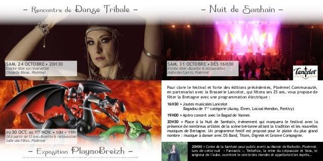 Pour clore le festival et forte des éditions précédentes, Ploërmel Communauté, en partenariat avec la Brasserie Lancelot, ...
