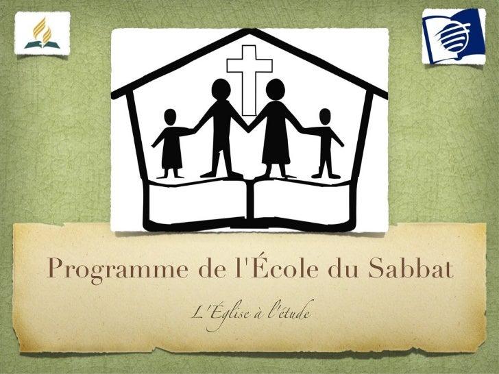 Programme du 18 février 2012