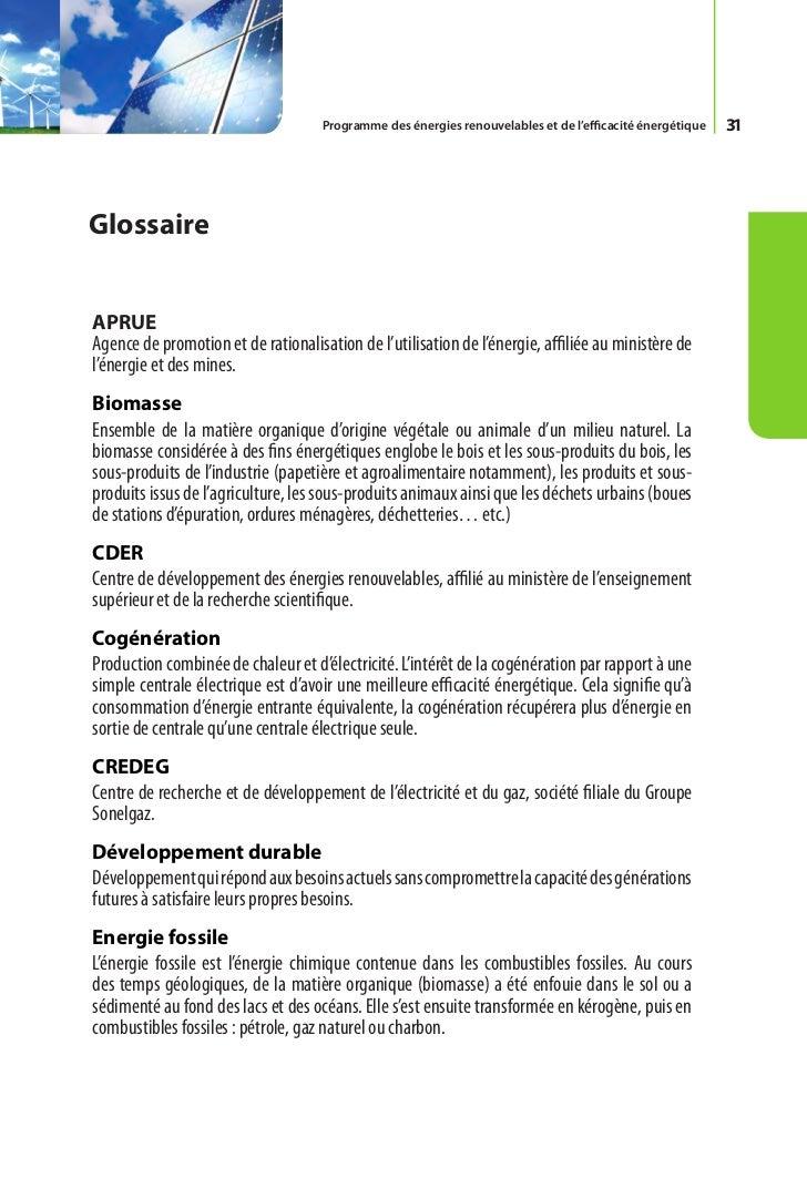 Ce document a été élaboré par le ministère de l'énergie et des mines                Conception et réalisation SATINFO     ...